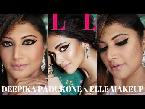 "DEEPIKA PADUKONE x ELLE INDIA MAGAZINE ""INSPIRED"" MAKEUP TUTORIAL 