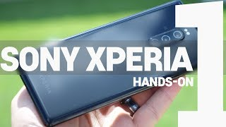 Sony Xperia 1 Hands-On & Unboxing