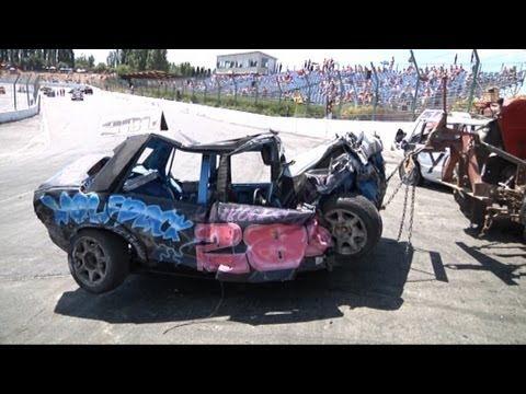 Best CRASHES Worldcup BANGERS racing 2010 Warneton