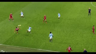 Clip shows the incredible Liverpool build-up to Roberto Firmino's goal vs Man City