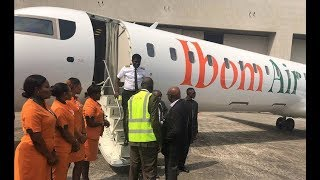 Ibom Air Takes Off in Uyo, Nigeria
