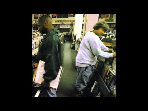 DJ Shadow - Building Steam With A Grain Of Salt (cover)