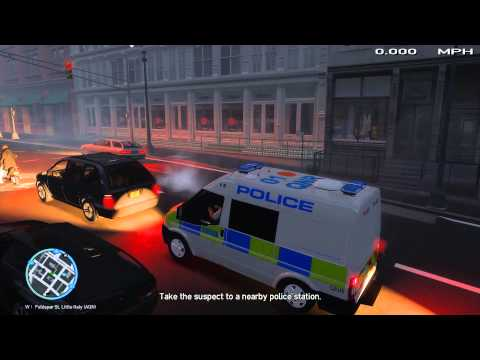 [GTA IV] - Metropolitan Police | Ford Transit | New Trees | London Roads | Patrol | [HD]
