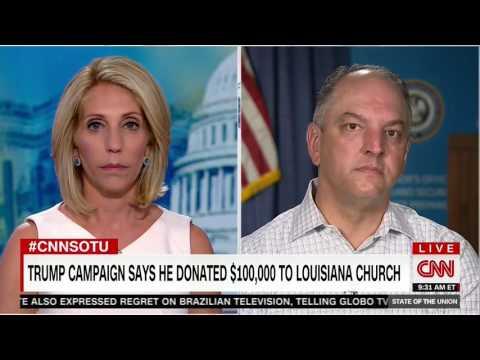 Gov. John Bel Edwards praises Trump, Pence for response to Baton Rouge flooding