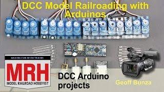 DCC Arduino projects for model trains | March 2017 Model Railroad Hobbyist | Geoff Bunza