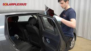 Car Sun Shades tailored fit - to mount easy and fast - Mounting from the outside - door window
