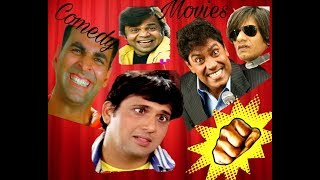Top bollywood comedy movies.