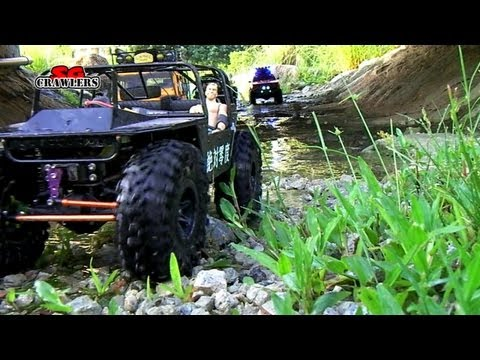 7 trucks RC offroad adventures RC4WD Subzero Axial SCX10 hummer honcho Avalanche Engineering Sniper