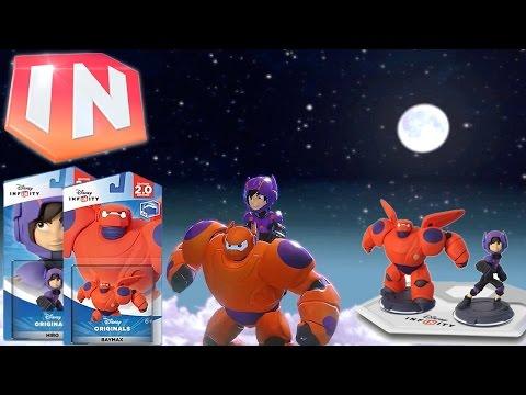Disney Infinity Big Hero 6 - Baymax & Hiro Trailer & Game-Play Analysis