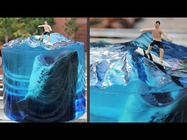 How to Make a Megalodon Diorama
