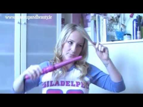 HAIR TUTORIAL: Easy Pretty Curls (Babyliss Conical Wand Review)