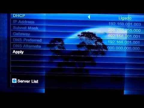 Azamerica S922HD aparelho com a nova atualização do dia 05/01/13