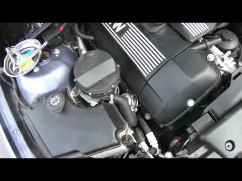 Emission System Repair BMW E46 secondary air check valve