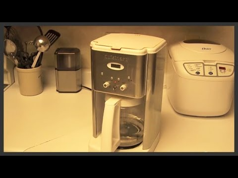 How to Clean Cuisinart Coffee Maker at TheDogLogs