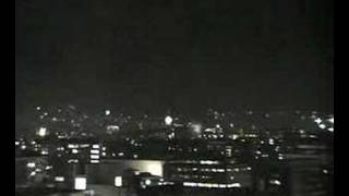 Time lapse of new years firework in Oslo