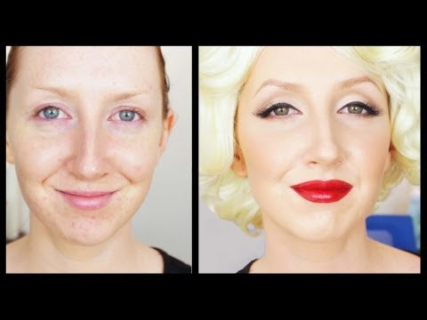 Beauty Icon #4 - Marilyn Monroe Makeup Tutorial video
