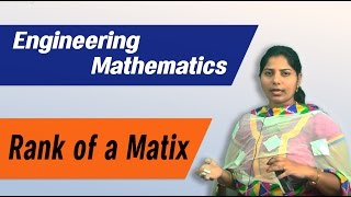 Matrices Rank of Matrix :Best Engineering Mathematics Tips (AU,JNTU,GATE,DU)