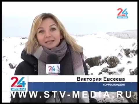 """Свалка снега среди """"Подсолнухов"""""""