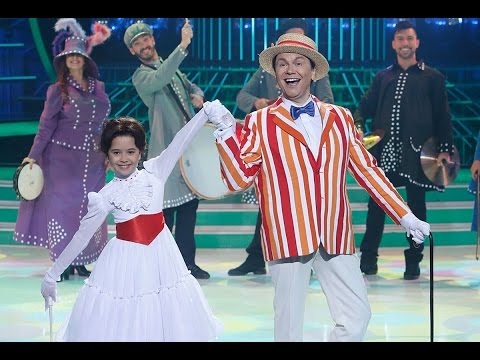 Santiago Segura y Julia imitan a Mary Poppins - Tu cara me suena mini