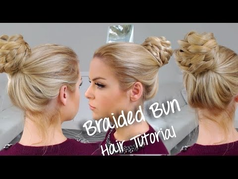 Easy Braided Bun ~ Hair Tutorial