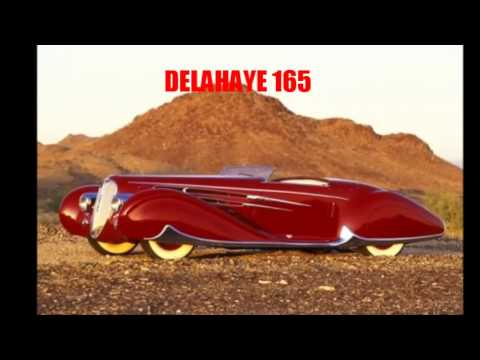 Supercar: art deco cars of the 30 s & 40 s (Delahaye, Delage,Bugatti, Duesenberg,Cord etc)