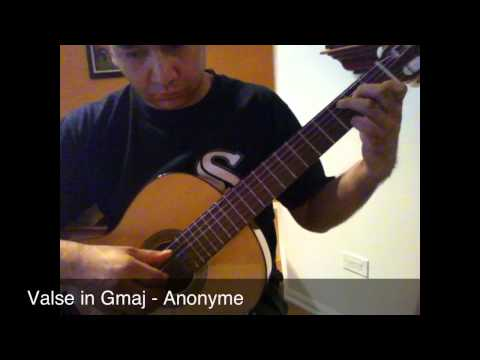 Anonymous - Valse In Sol