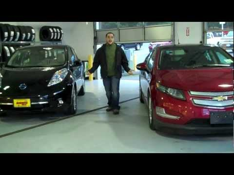 Chevy Volt Bremerton Vs Nissan Leaf Seattle