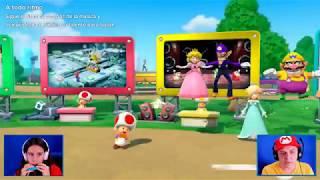 Super Mario Party con Edu y Aby!!