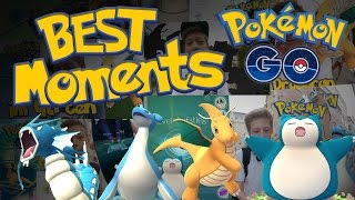 Beste Momente! Alle krassen Fänge und Entwicklungen! • Pokemon Go deutsch