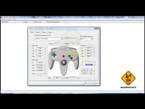 Configurando o Joystick Retrolink 64 USB no emulador Project 64