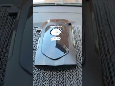 Best speed camera detector Snooper 4zero elite amazing review