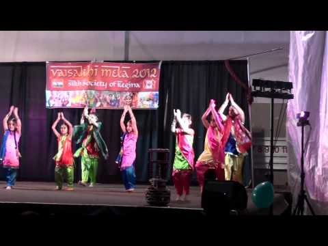 Regina Vaisakhi Mela 2012 - Young Girls Dance video
