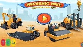 Lắp Ráp Sữa Chữa Xe Xúc Đất, Máy Ủi Đất, Xe Nâng, Xe Hủ Lô | Mechanic Mike Construction City |TKG