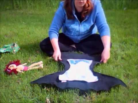How to Make a Noso (No-Sew) Fleece Diaper Cover