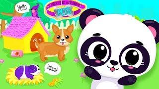 Fun Baby Care Kids Game - Cute & Tiny Pets - Build Animal Houses, Fun Pet Care Kids Playground
