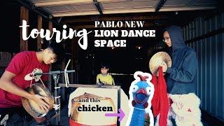 Touring Lion Dance Space, Halloween & a Chicken / EP 62 / 舞狮 / 狮子舞打鼓 / 舞狮表演 / barongsai / múa lân