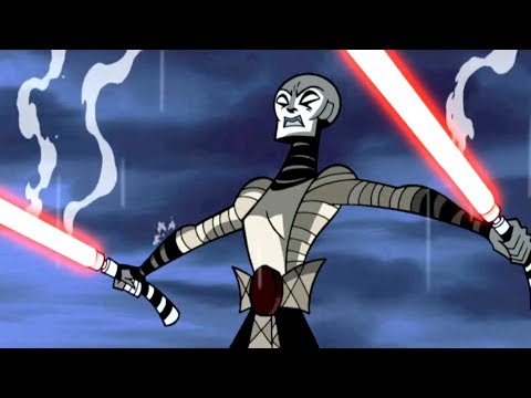 Star Wars Forces of Destiny | Asajj Ventress VS Anakin Skywalker | Clone Wars | Disney [Dash Star]