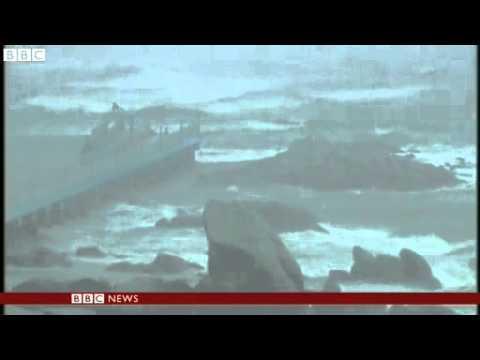 BBC News  Typhoon Rammasun batters Philippines