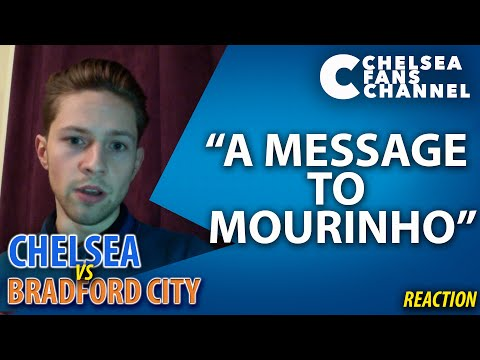 """A MESSAGE TO MOURINHO"" - Chelsea Vs Bradford City - Rory's Reaction"