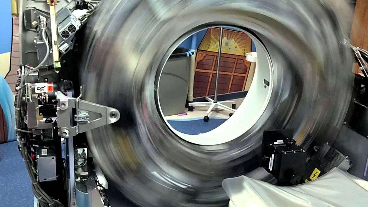 Ge Vct Ct Scanner Gantry Rotation Youtube