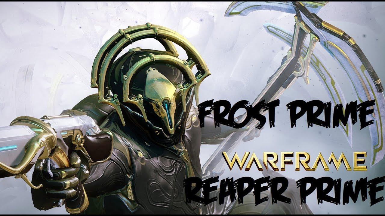 Warframe Frost Prime Warframe Open B...