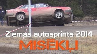 Ziemas autosprints 2014 (action & mistakes)