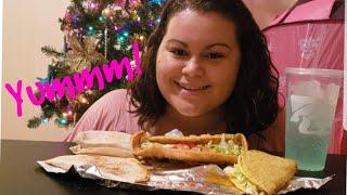 Taco Bell Mukbang(Eating show)