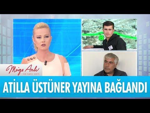Atilla Üstüner canlı yayına bağlandı - Müge Anlı İle Tatlı Sert  22 Kasım 2017