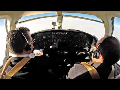 Atlantic crossing in a Citation Jet - Landing at Greenland!