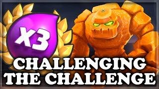 10 Min to Win the 3x Elixir Challenge | Clash Royale 🍊