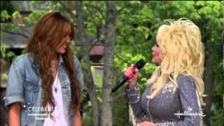 "Dolly Parton  Miley Cyrus perform ""jolene"""