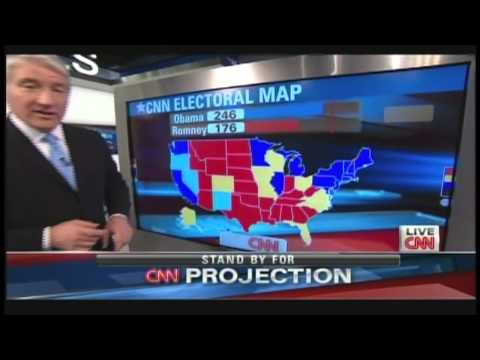 Presidential Election News Coverage (November 6, 2012, 11PM)