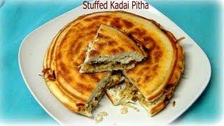 Stuffed Kadai Pitha ( Coconut Cake ) Recipe Video - Priyasrasoi.com