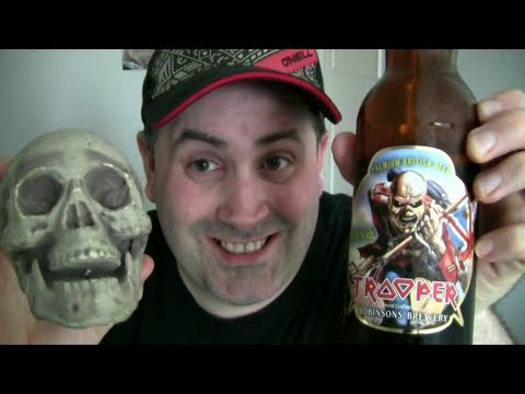 My first beer in 6 years -  iron maiden beer trooper